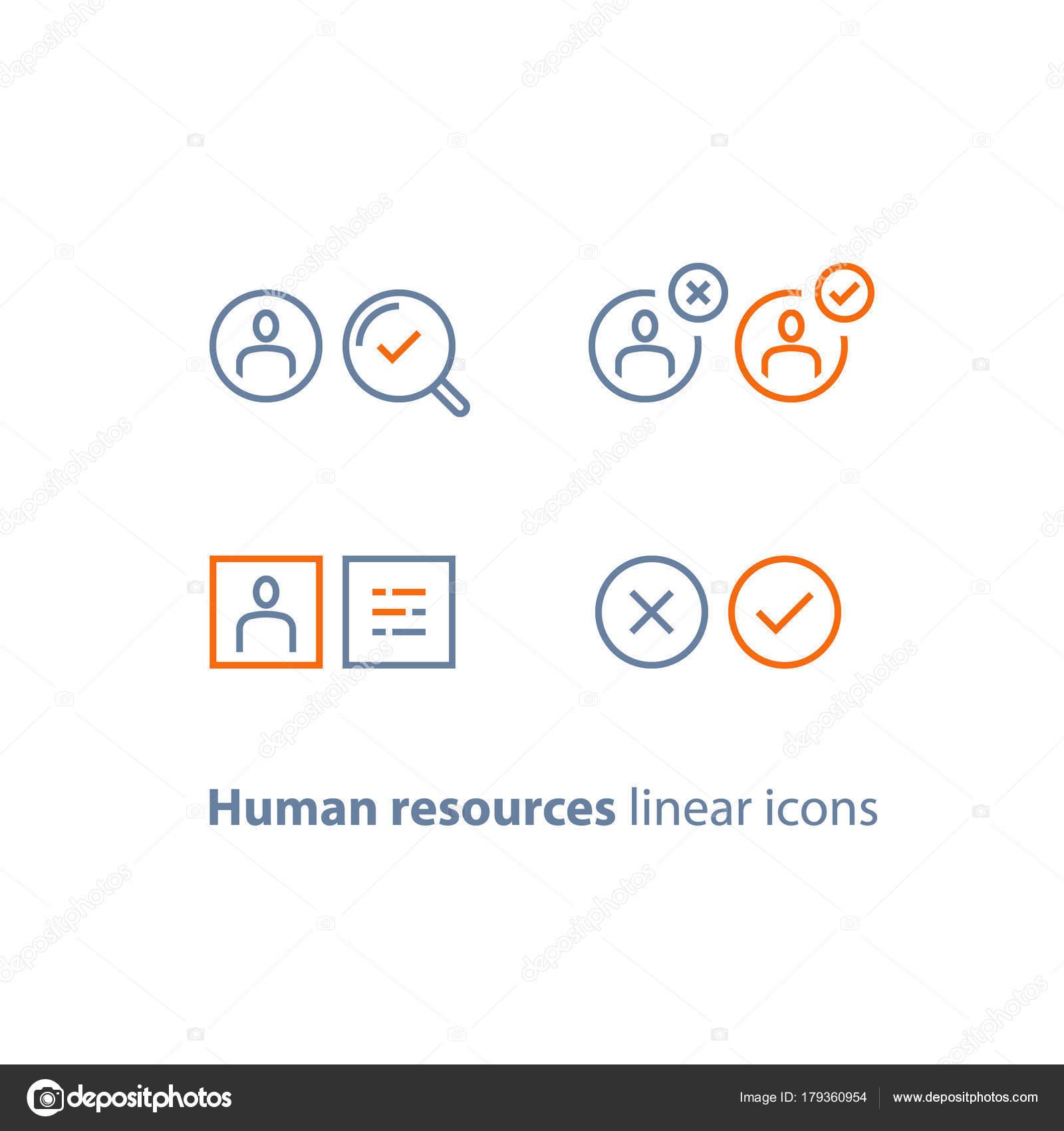 Human Resources, wählen Kandidaten, Rekrutierung Service, Füllung ...