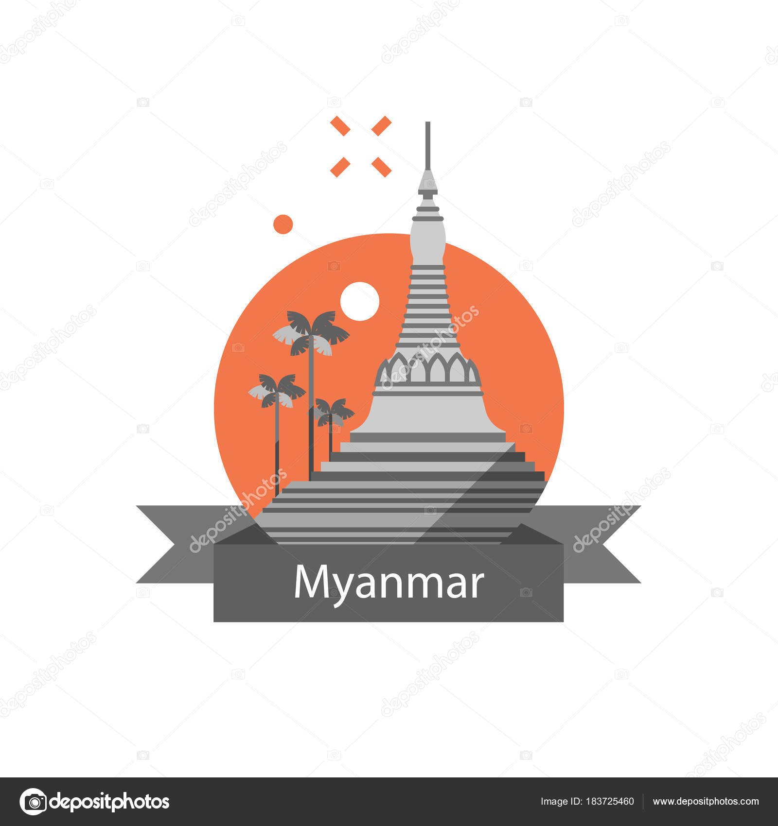 Yangon symbol shwedagon pagoda myanmar travel destination yangon symbol shwedagon pagoda myanmar travel destination culture and architecture famous landmark biocorpaavc Gallery