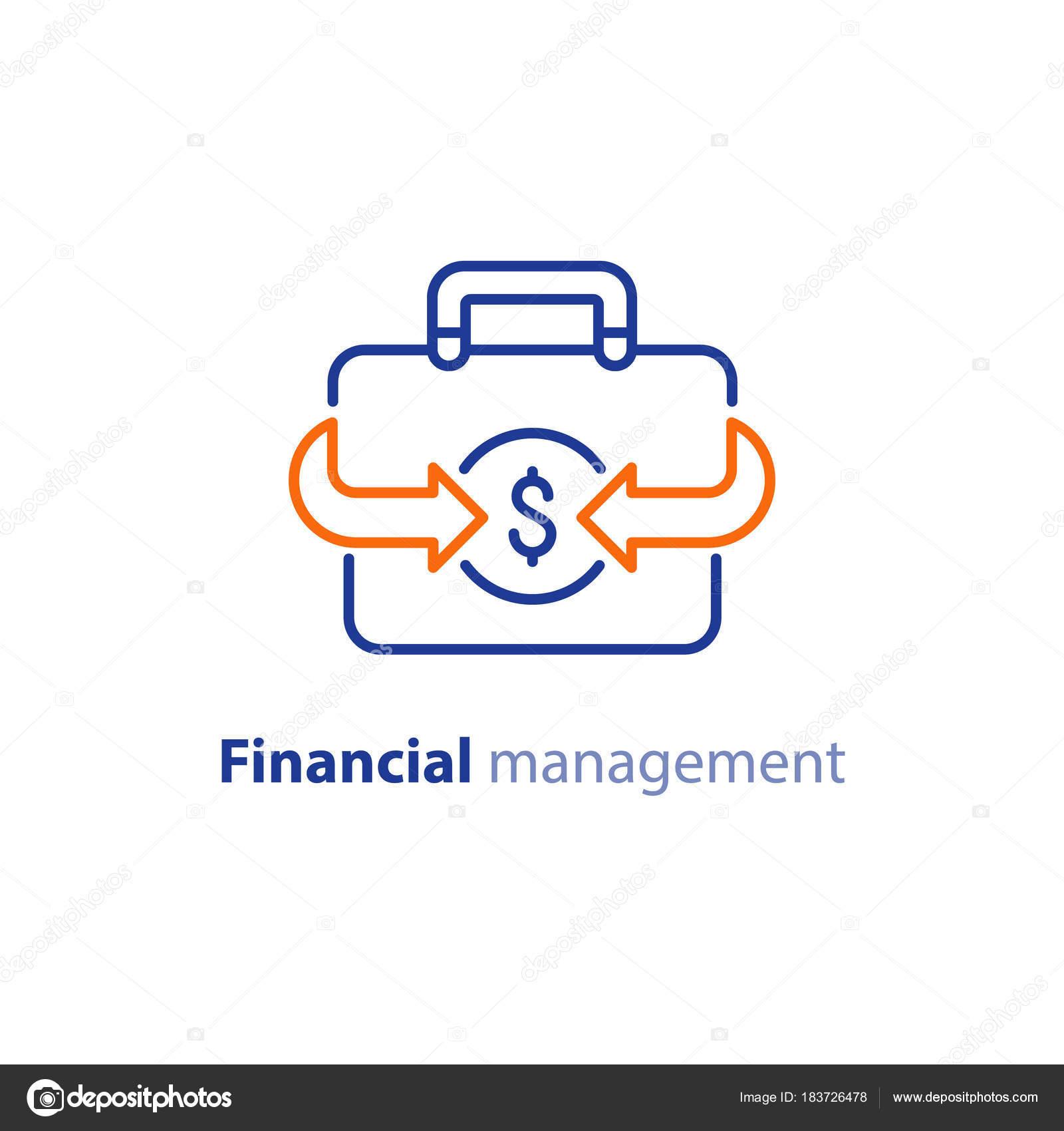Geld sparen, Investitionsplan, Börse, Finanzdienstleistungen, line ...