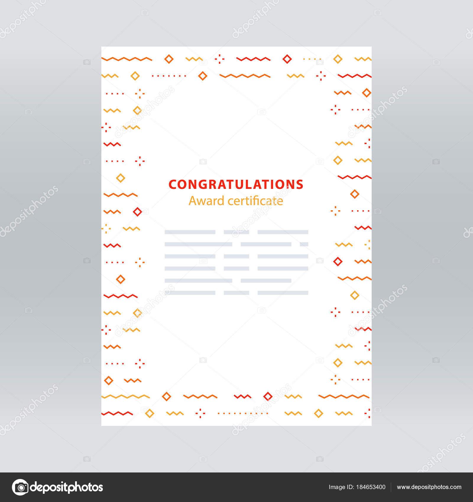 Festive border confetti background vector pattern minimalist award certificate border with falling confetti pattern abstract background minimalist festive decoration celebration backdrop concept vector line stopboris Images