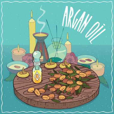 Argan oil used for aromatherapy