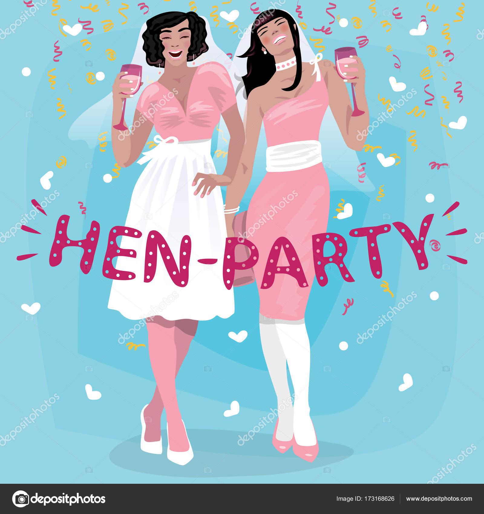 Mädchen in rosa Hochzeit Kleider Willkommen bei ...