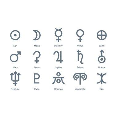 Astronomical Vector Symbols