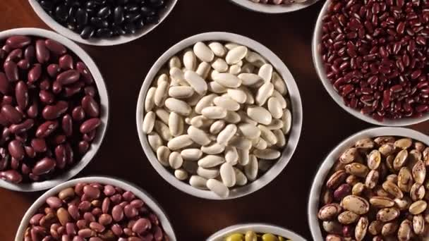 Assorted beans in rotation