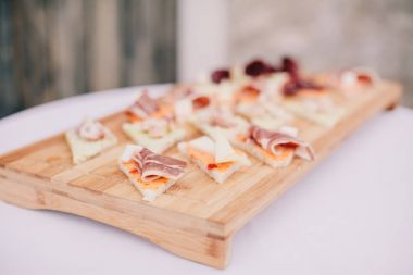 delicious cheese and Bacon Appetizer
