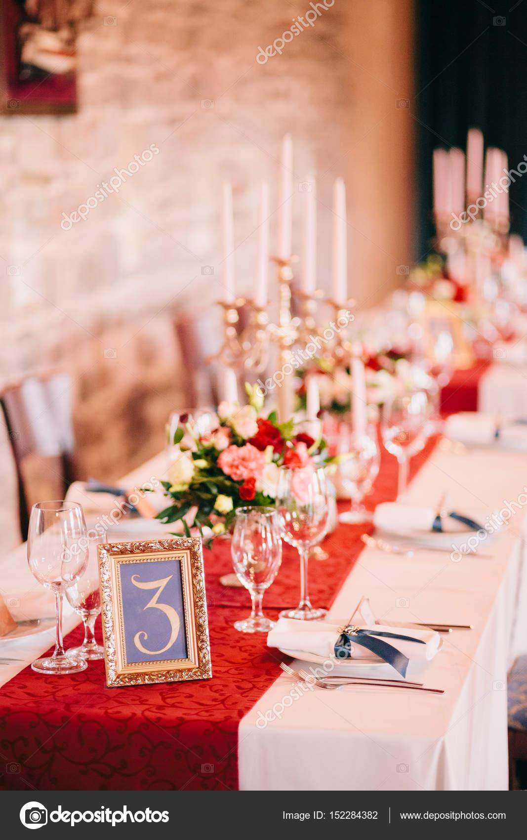 Entzuckend Hochzeit Tisch Herzstück U2014 Stockfoto