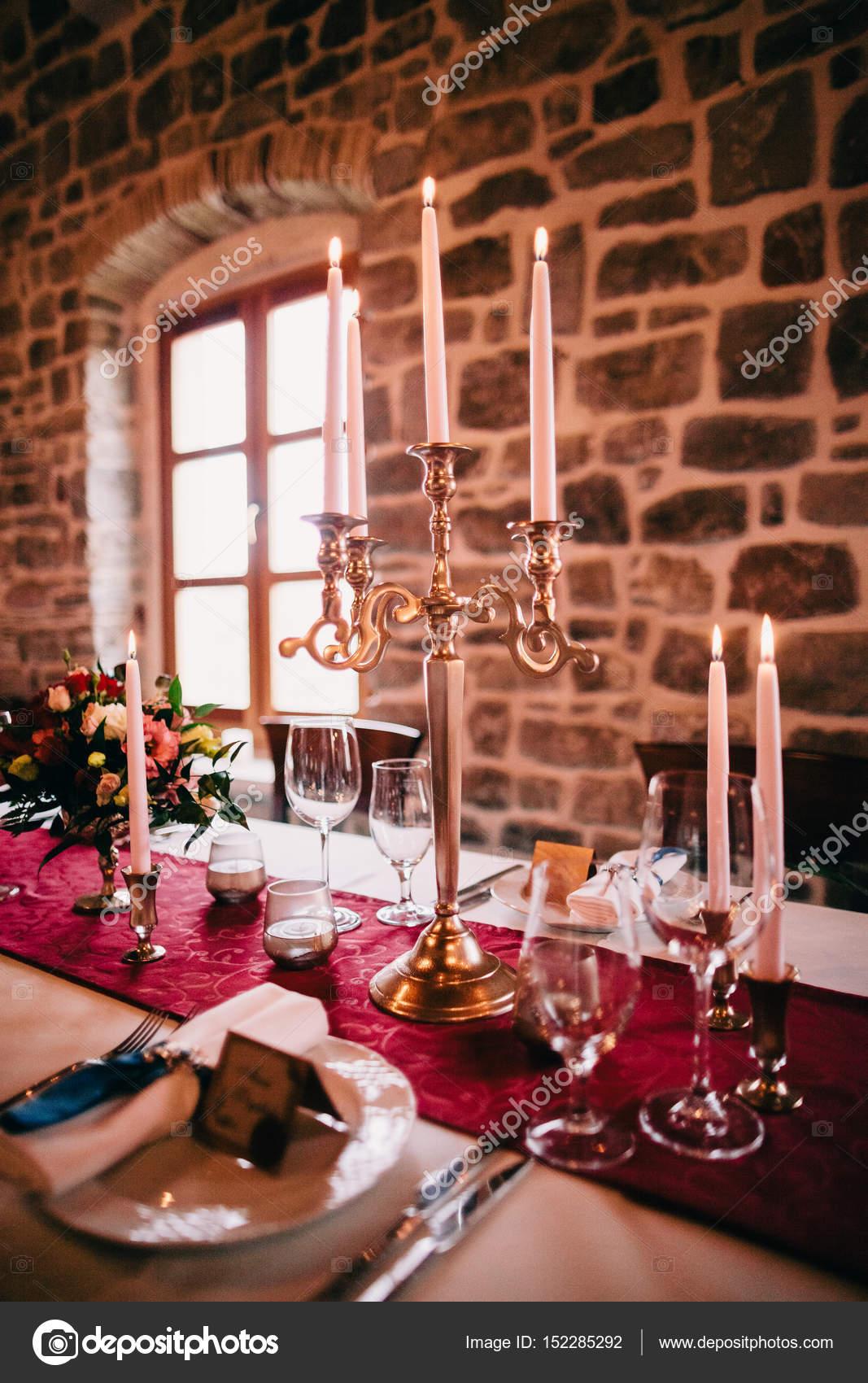 Fantastisch Hochzeit Tisch Herzstück U2014 Stockfoto
