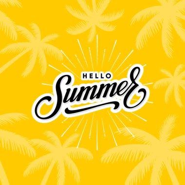 Hello summer yellow