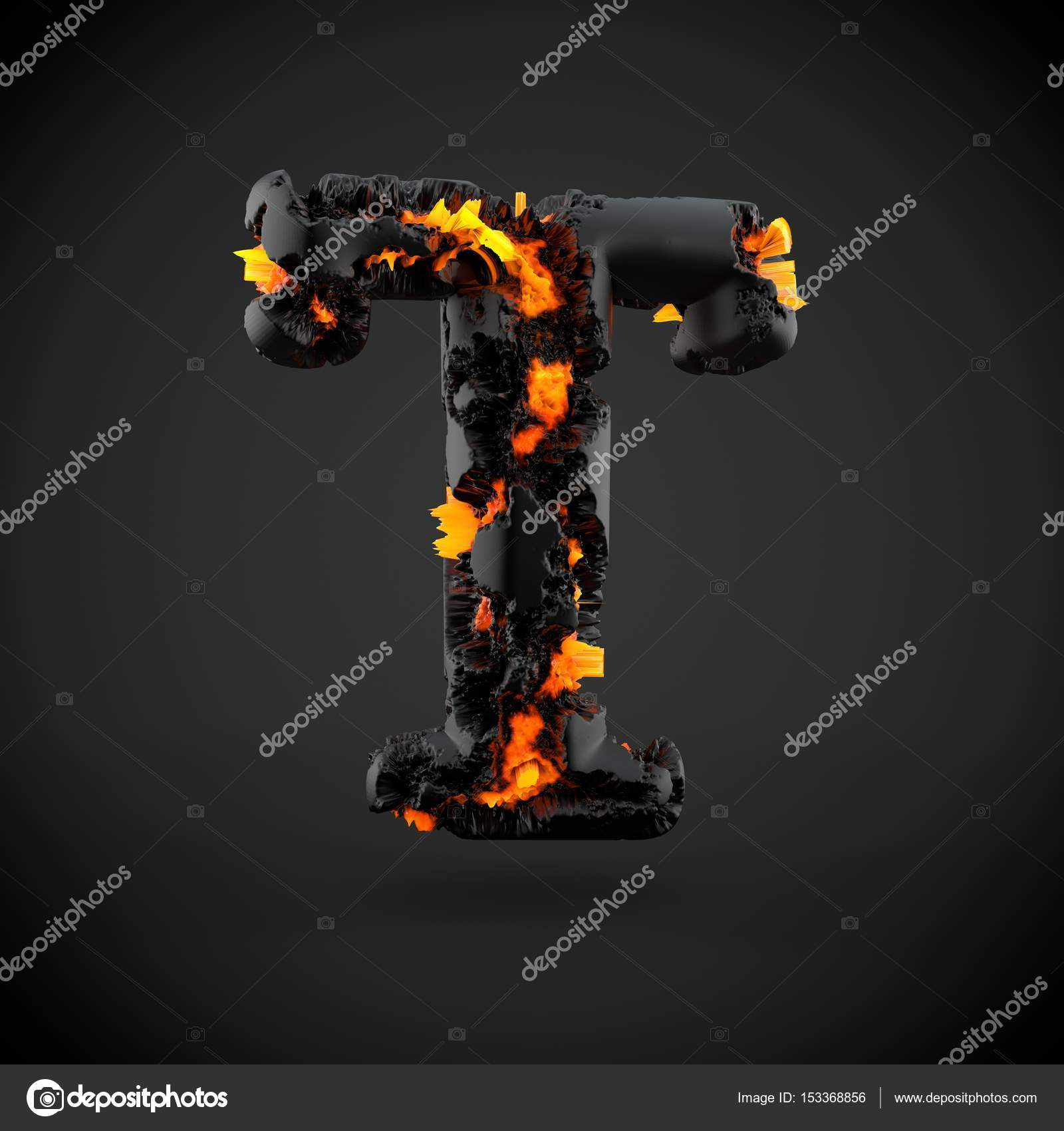 Volcanic alphabet letter t uppercase stock photo whitebarbie volcanic alphabet letter t lowercase 3d render of volcanic font with burning lava on black background photo by whitebarbie thecheapjerseys Choice Image