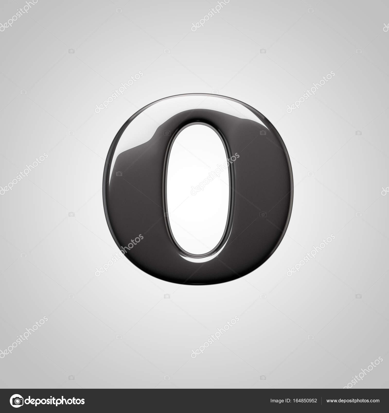 Lowercase Black Letter O Stock Photo Whitebarbie 164850952