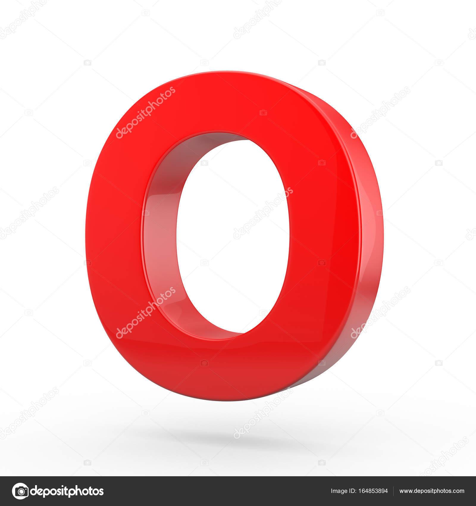 Uppercase Red Letter O Stock Photo Whitebarbie 164853894