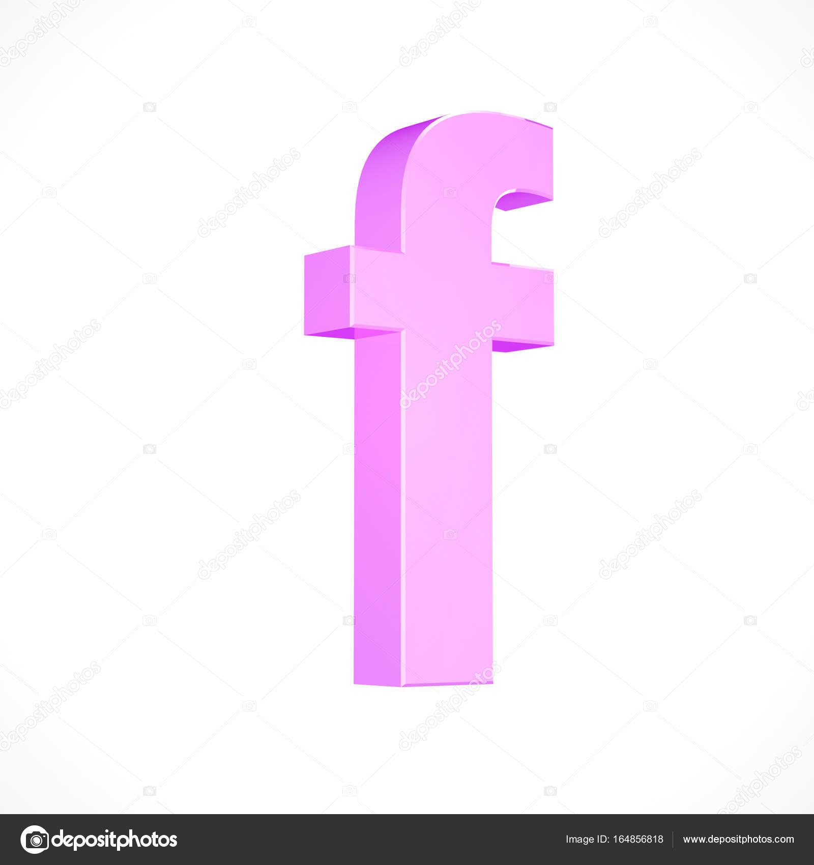 letra minúscula de rosa F — Foto de stock © whitebarbie #164856818