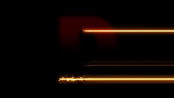 Letter D reveal. Fire plasma glowing motion wipes to center. 4K 60 fps video render footage