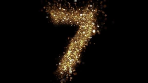 A 7-es számú arany részecskékből készült, az arany csillogása felfedi