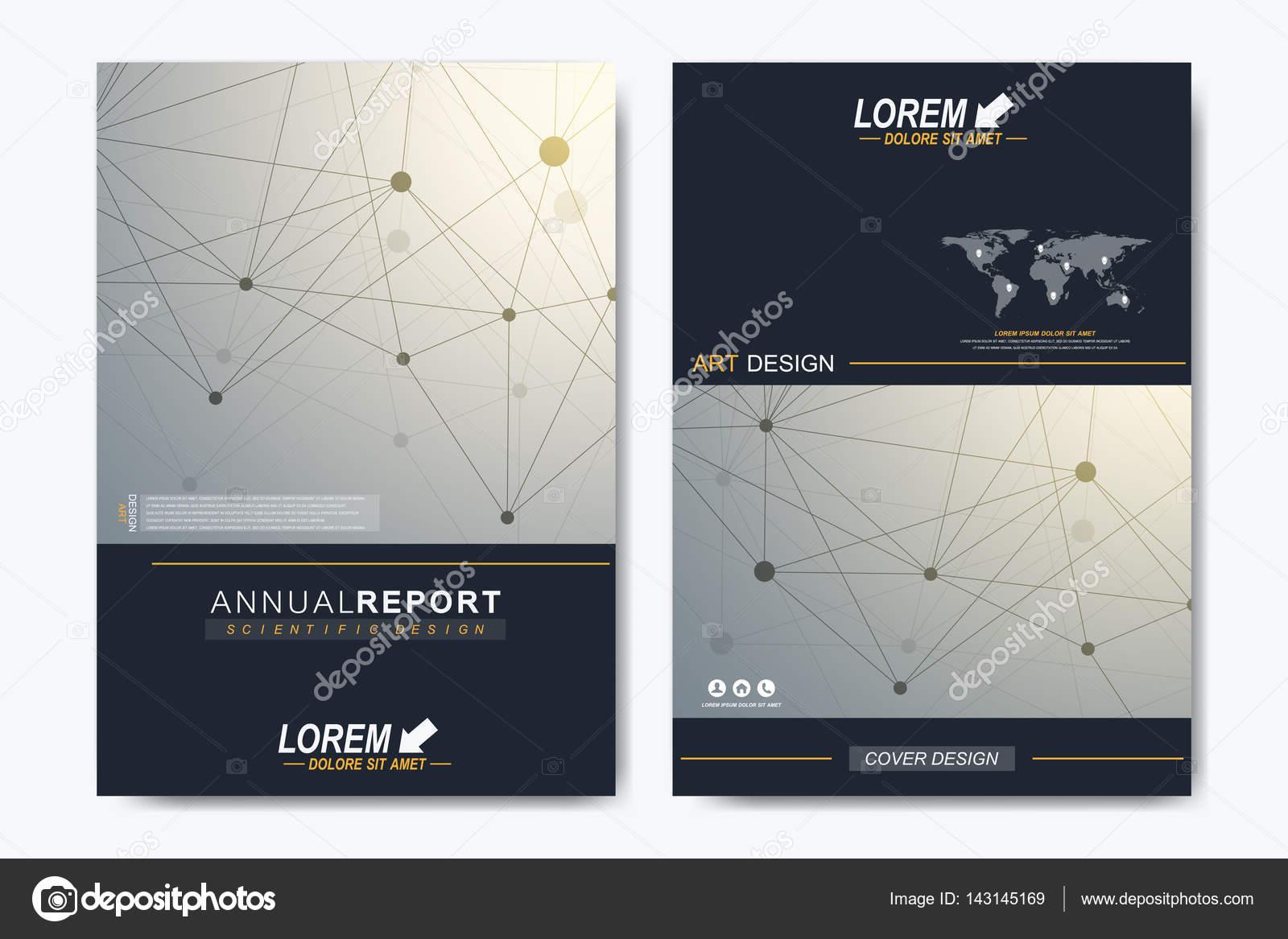de vector moderno para folleto, prospecto, folleto, anuncio ...