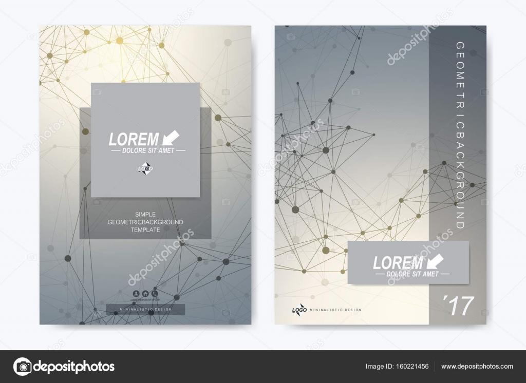 Plantilla de vector moderno para folleto, prospecto, folleto ...