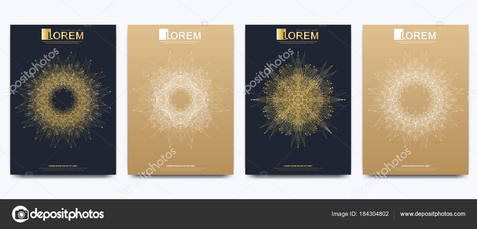 Moderne Vektor Vorlage für Broschüre, Broschüre, Flyer, Cover ...