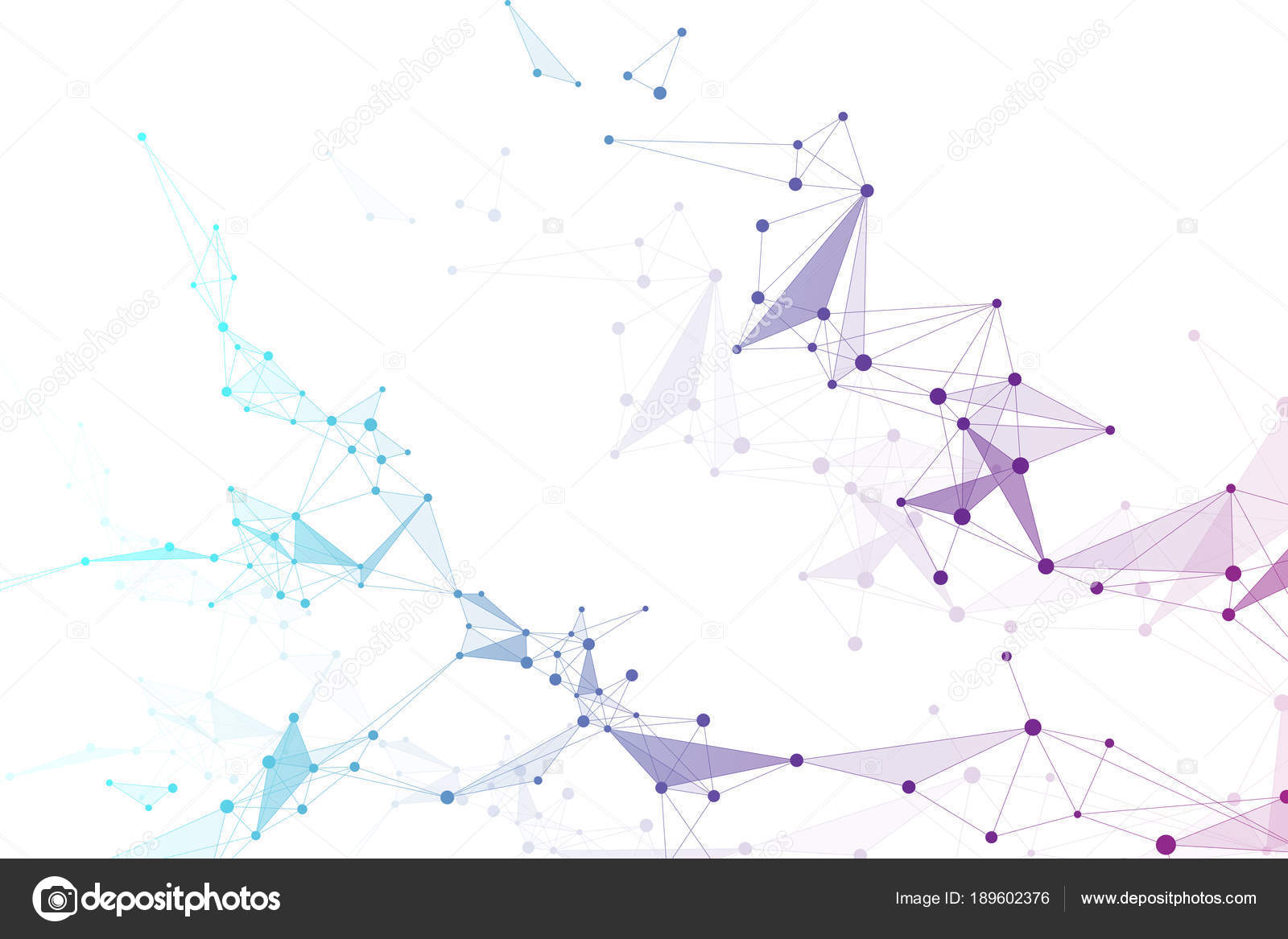 Big data visualization  Graphic abstract background