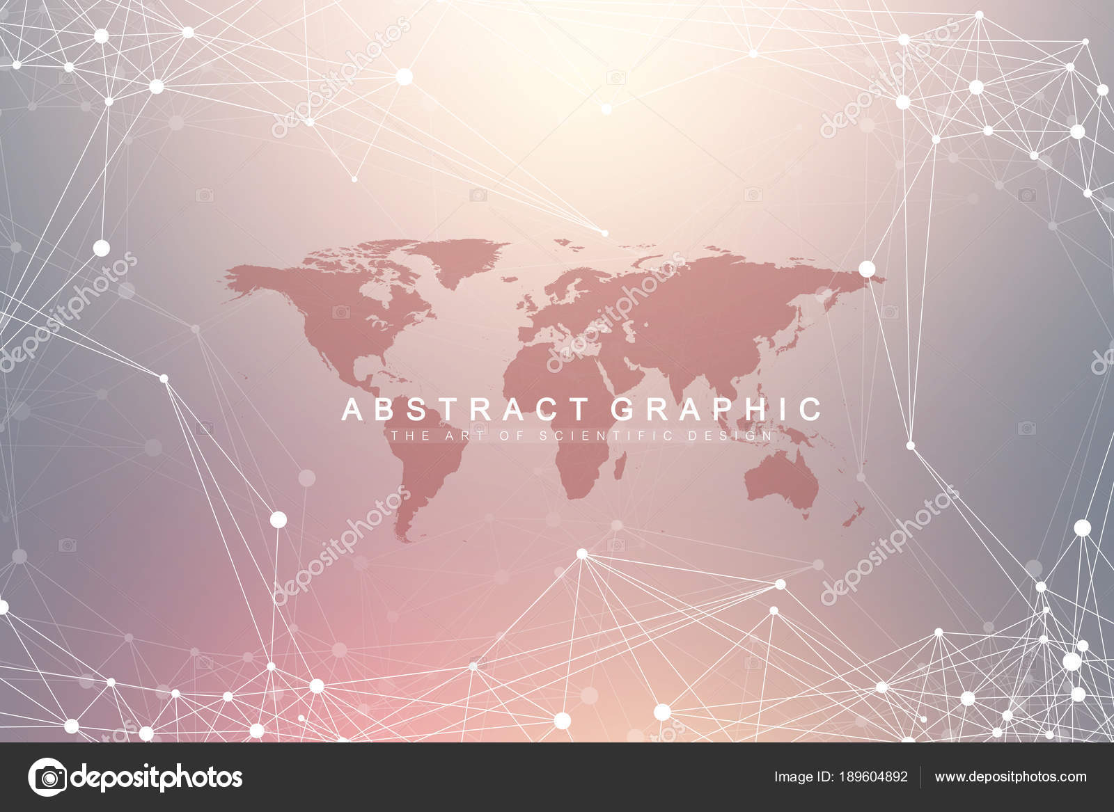 Geometric graphic background communication with world map big data geometric graphic background communication with world map big data complex with compounds perspective backdrop gumiabroncs Images