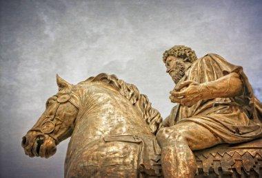 Statue Of Marcus Aurelius - Rome Italy