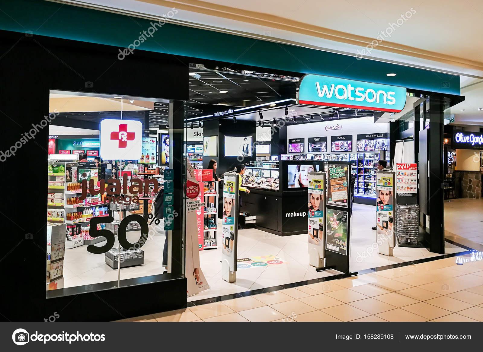 KUALA LUMPUR, Malaysia, June 25, 2017:Watsons Personal Care