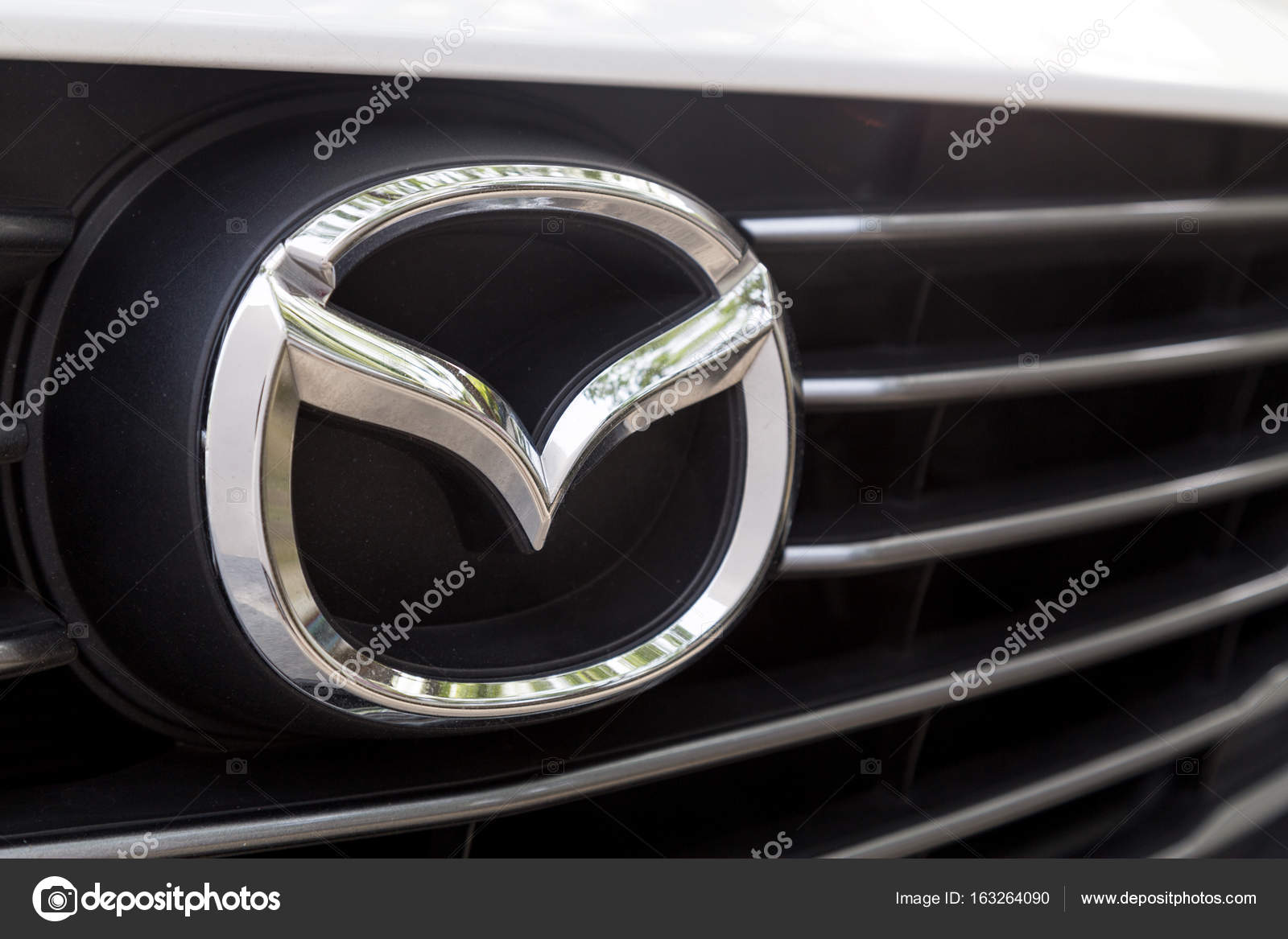Kuala Lumpur, Malaysia - 12. August 2017: Mazda Motor Corporation ...