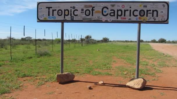 Wendekreis des Steinbocks in Namibia