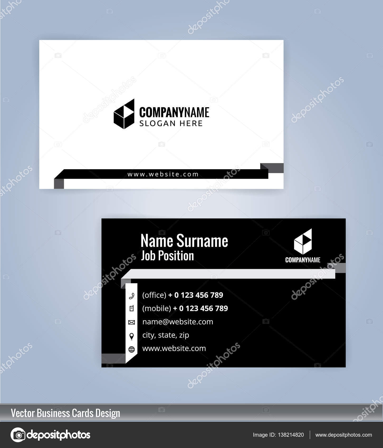 Modern Creative And Clean Business Card Design Template