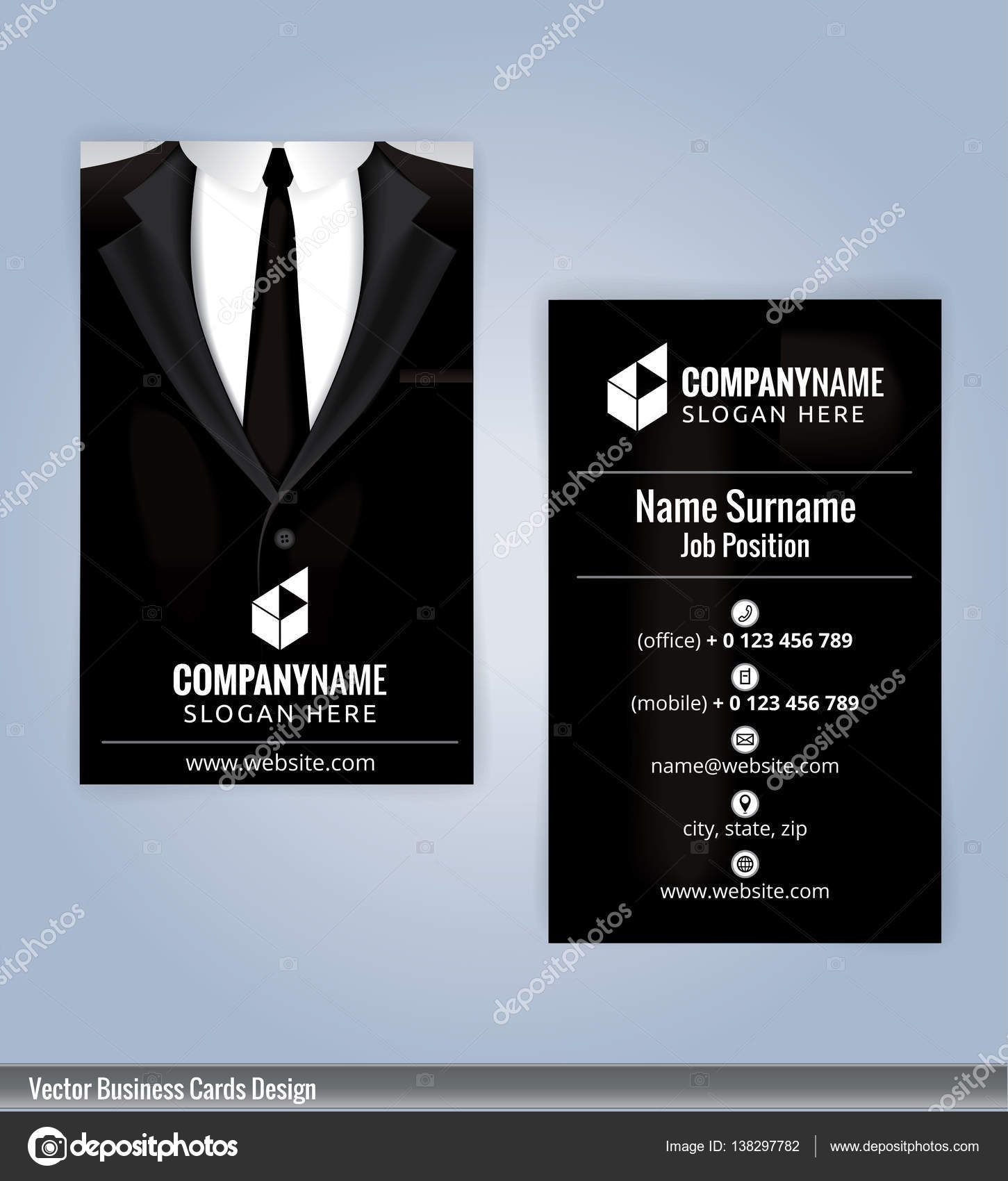 Business card template suits background business card design business card template suits background business card design modern business card illustration colourmoves