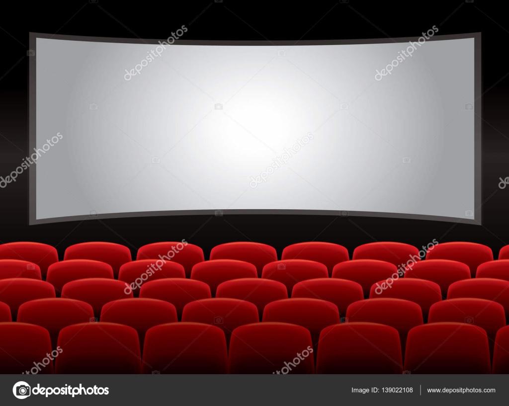 Teatro Le Sedie.Interno Del Teatro Con Sedie Rosse Vettore 10 Vettoriali