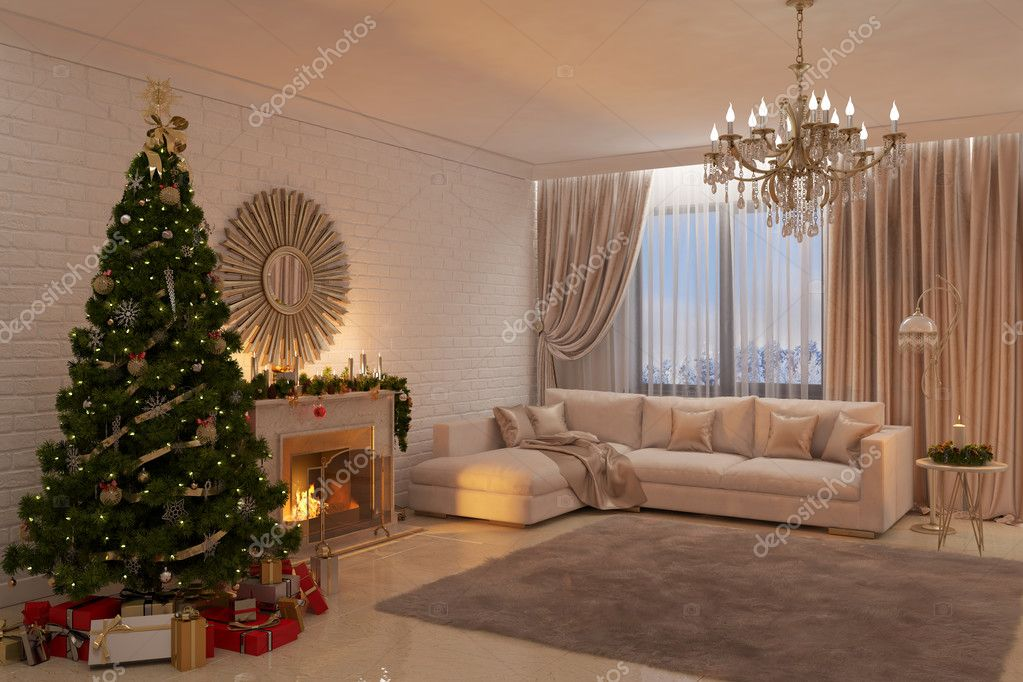 Awesome Kerstversiering Woonkamer Contemporary - Trend Ideas 2018 ...