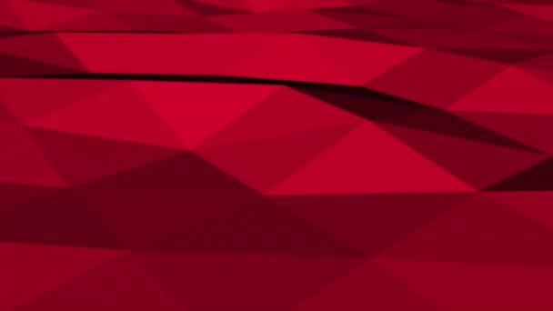 Mozgás sötét piros alacsony poli elvont háttér