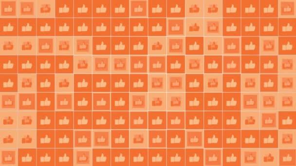 Motion Mint ikonok egyszerű hálózati háttér