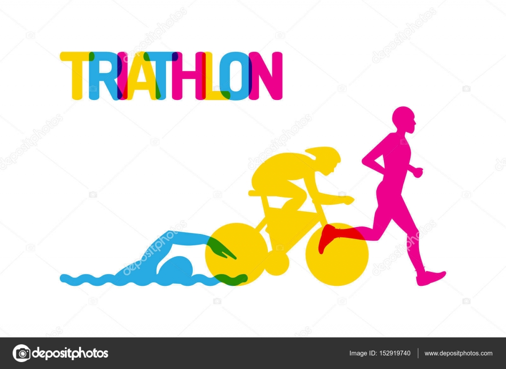 logo sport triatlon � stock vektor 169 shopplaywood 152919740