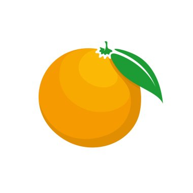 Fresh ripe orange fruit