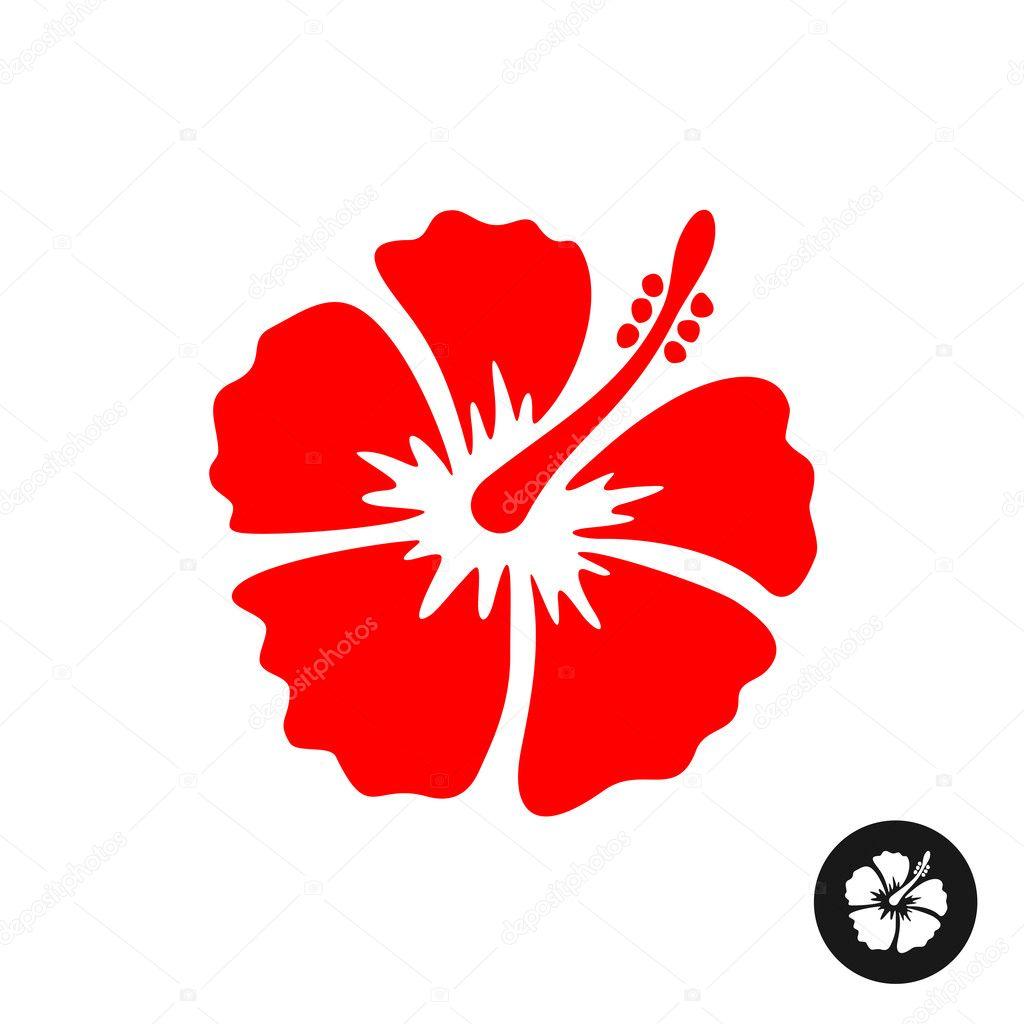 Design of hibiscus flower stock vector kilroy 125749224 design of hibiscus flower stock vector izmirmasajfo