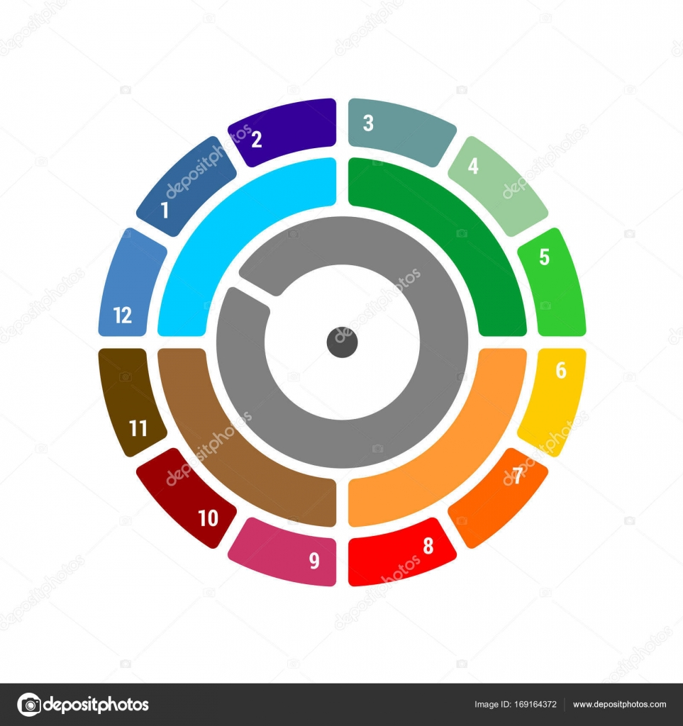 Year round chart with seasons quarter and months stock vector year round chart with quarter and months season blocks with color difference for infographics annual reports and other vector by kilroy nvjuhfo Choice Image