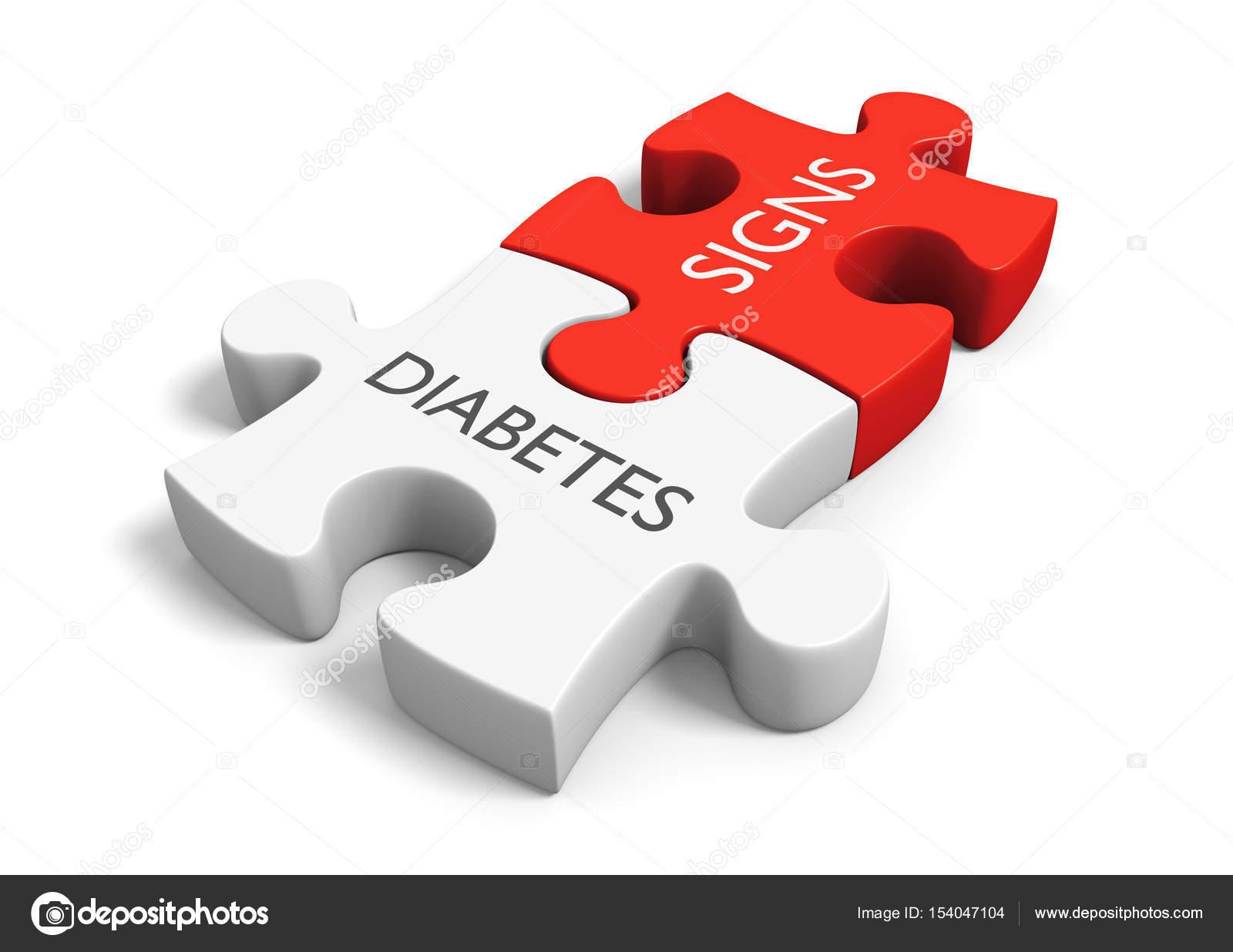 tekenen diabetes