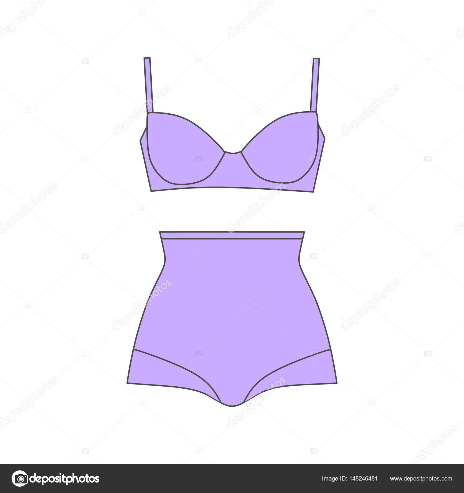 Ropa interior. Defectos de conformación de cuerpo de ropa interior ...
