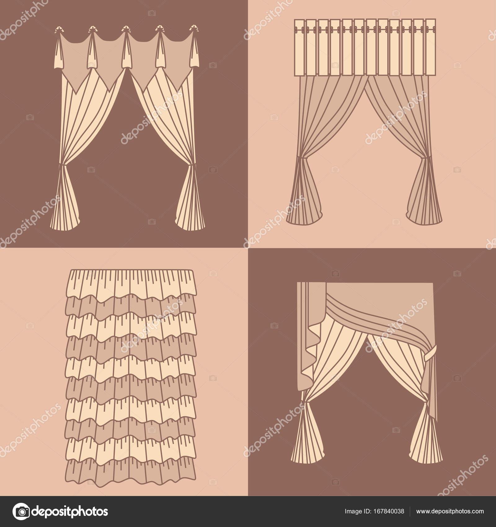gordijnen en draperieën interieur ontwerp ideeën realisti ...