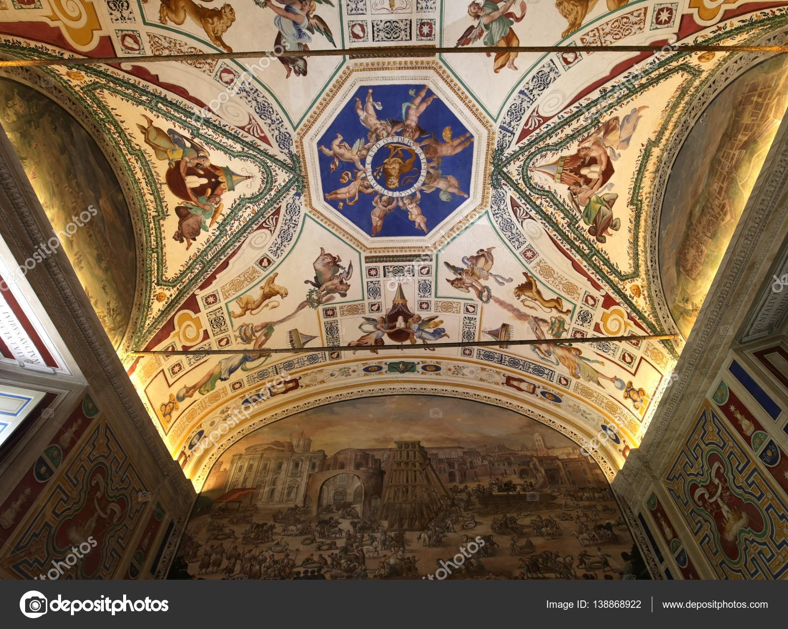 Museo Del Vaticano.La Biblioteca Apostolica Vaticana Musei Vaticani Citta Del