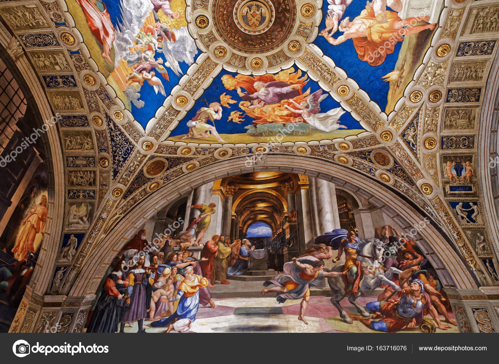 Museo Del Vaticano.Interni Delle Stanze Di Raffaello Museo Del Vaticano Vaticano