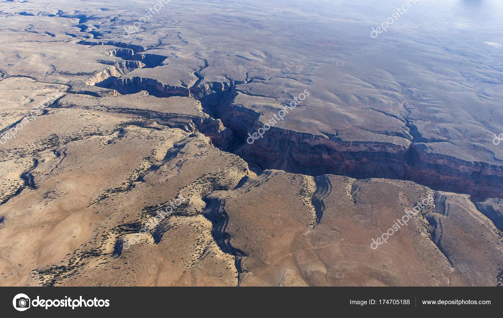 Aerial View Colorado Grand Canyon Arizona Usa — Stock ...