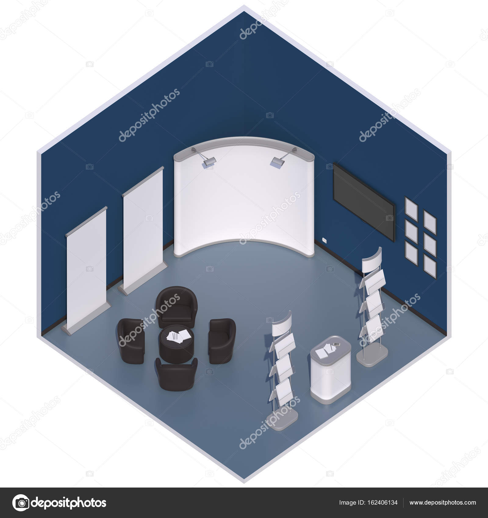 Exhibition Booth Stand : Exhibition booth stand u stock photo dana c