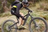 Fotografie Biker in Schutzausrüstung