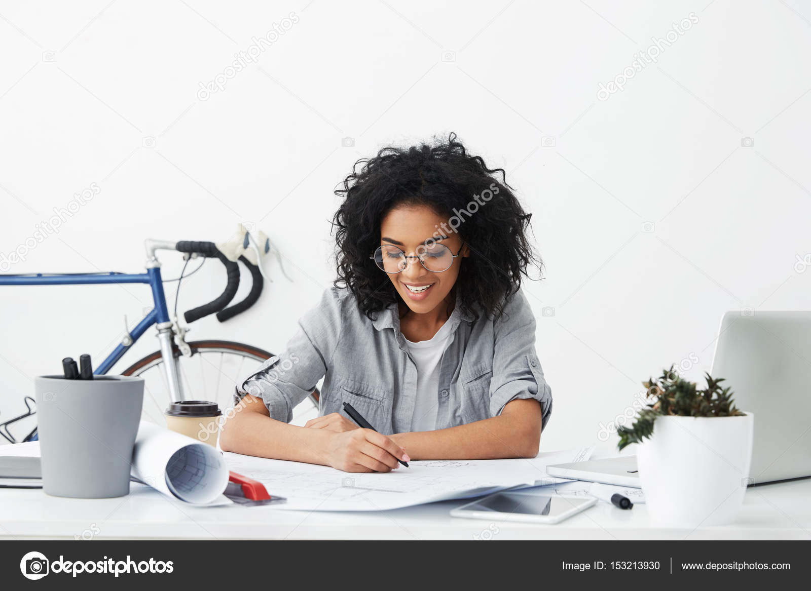 Student Studying Architecture And Construction U2014 Stock Photo #153213930