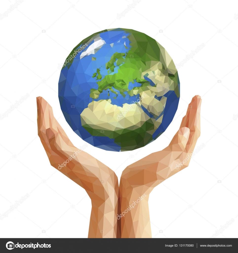 картинки земля в руках