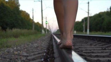 Teen Girl Barefoot Stock Videos Royalty Free Teen Girl