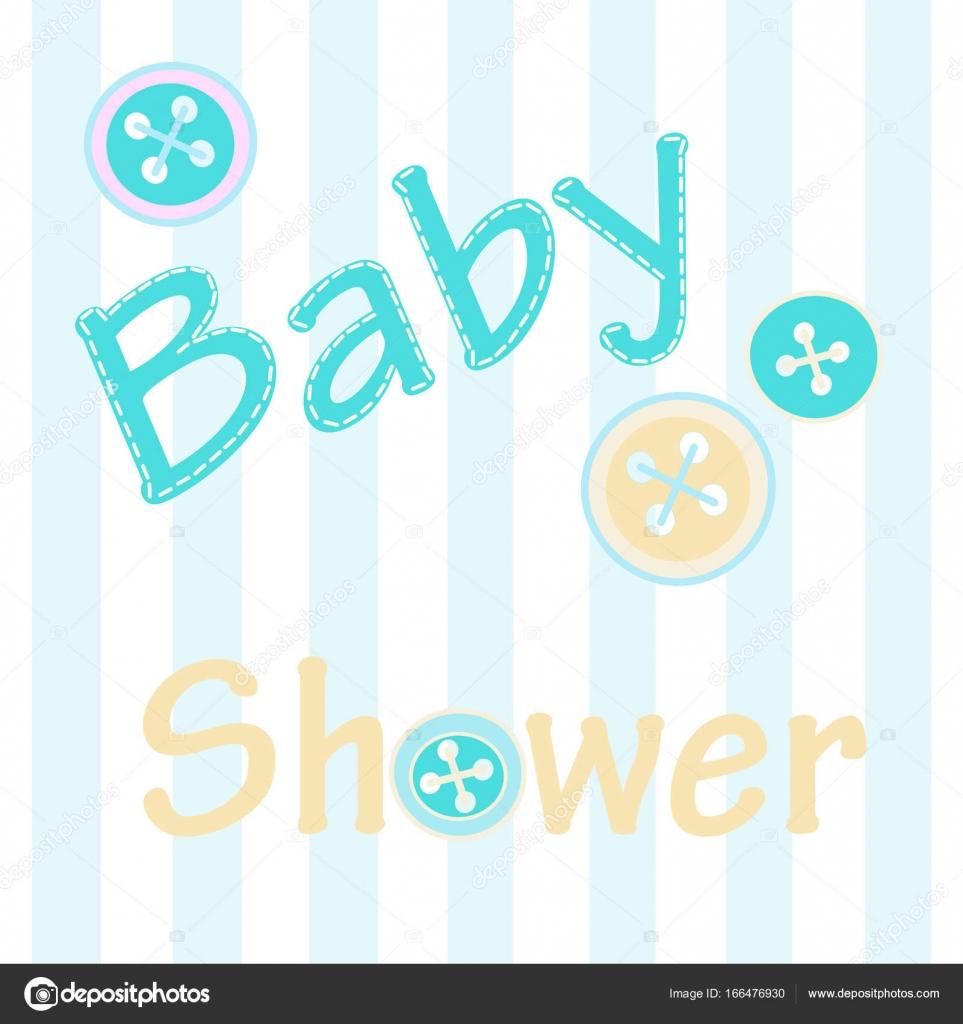 Fondo Tarjeta Baby Shower Invitación Para Baby Shower En