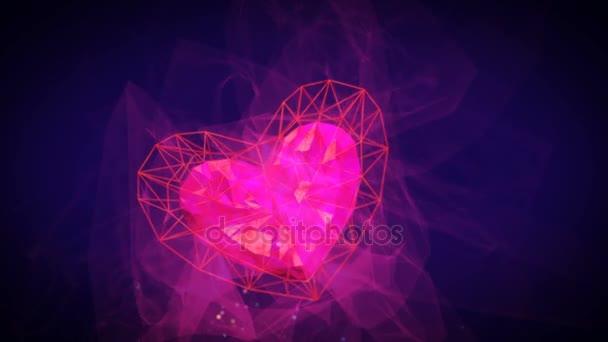 Frohen Valentinstag U2014 Stockvideo #139974138
